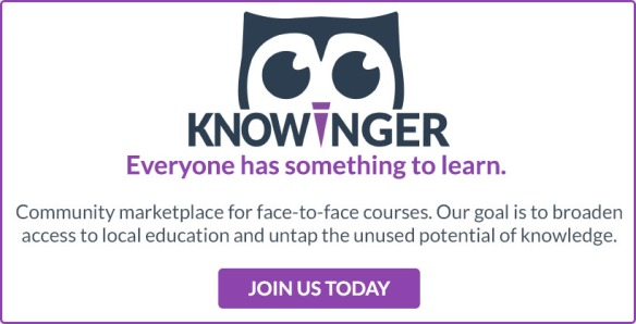 Knowinger banner