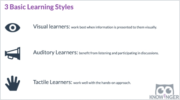 3 Basic Learning Styles